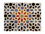 Ceramic Tiles from the Alcazar of Seville Giclee Print