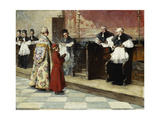 The Christening; Il Battesimo Giclee Print by Vicenzo Irolli