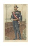 Vice-Admiral Caillard Giclee Print by Jean Baptiste Guth
