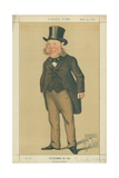 Sir Watkin Williams-Wynn, the King of Wales, 14 June 1873, Vanity Fair Cartoon Giclee Print by Sir Leslie Ward