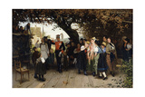 On Leave, 1883 Giclee Print by Wilhelm Zimmer