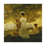 The Boating Trip Giclee Print by Gaston De Latouche