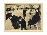 Paris Intense, 1893-94 Giclee Print by Félix Vallotton