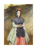 Coming from Church, 1884 Giclee Print by Charles Sillem Lidderdale