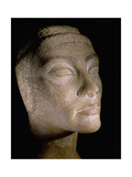 The Unfinished Head of Queen Nefertiti, Wife of Akhenaton Giclee Print