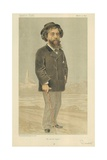 M Alphonse Daudet Giclee Print by Jean Baptiste Guth