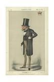 Earl Derby Giclee Print by Carlo Pellegrini