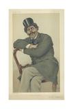 M Paul De Granier De Cassagnac Giclee Print by Theobald Chartran