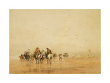 Crossing Lancaster Sands, 1836 Giclee Print by David Cox