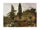 Mill on the Avon, 1886 Giclee Print by John Arthur Lomax