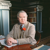 Evelyn Waugh in His Study, 1963 Photographic Print
