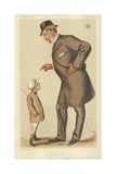 The Earl of Westmoreland, the Affable Earl, 10 November 1883, Vanity Fair Cartoon Giclee Print by Sir Leslie Ward