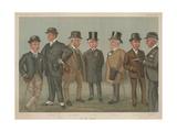 On the Heath Giclee Print by Sir Leslie Ward