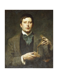 Portrait of the Sculptor George Frampton, as a Student (1860-1928) Giclee Print by Solomon Joseph Solomon