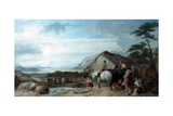 The Drover's Halt, 1846 Giclee Print by Richard Ansdell