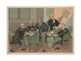 Empire Makers and Breakers Giclee Print by Henry Charles Seppings Wright