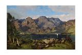 Derwentwater Looking Towards Borrowdale, 1855 Giclee Print by William James Blacklock