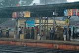 Monsoon Cloudburst on Ernakulam Railway Station Photographic Print