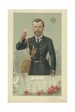Him the Czar Nicholas II Kg Giclee Print by Jean Baptiste Guth