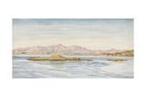 Morven Hills, 1885 Giclee Print by John Brett