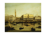 A View of the Molo from the Bacino Di San Marco, Venice Giclee Print by  Canaletto