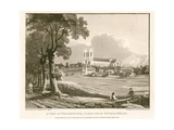 View of Wesminster from Tothill Fields Giclee Print