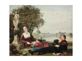 Heloise and Abelard Giclee Print by Robert Bateman