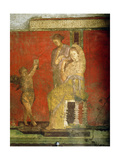 Fresco from the Villa of the Mysteries Giclee Print