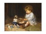 The Tea Party Giclee Print by Harry Mitten Wilson