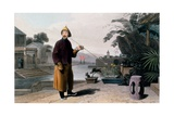 Chinese Gentleman, from 'A Picturesque Journey to India, by the Way of China, 1810 Giclee Print by Thomas & William Daniell
