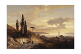 A View of Constantinople and the Bosphorus from the Asian Side, 1864 Giclee Print by Karl Paul Themistocles von Eckenbrecher