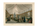 Monsieur J Isabey's Exhibition Room Giclee Print by Jean-Baptiste Isabey