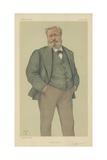 Monsieur Alexandre Dumas Fils Giclee Print by Theobald Chartran