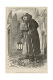 Charlie a London Watchman in the 18th Century Giclee Print