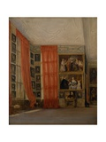 The Long Gallery at Hardwick Giclee Print by David Cox