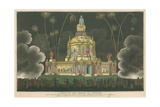 A View of the Temple of Concord Giclee Print