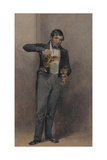 Butler, C.1827 Giclee Print by William Henry Hunt