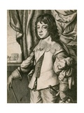 King Charles II as a Boy Giclee Print by Wenceslaus Hollar