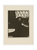 The Piano, from the Series 'Musical Instruments', 1896-97 Giclée-Druck von Felix Edouard Vallotton