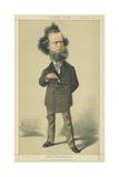 Mr William Hepworth Dixon Giclee Print by Adriano Cecioni