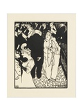 The Stranger, 1894 Giclee Print by Felix Edouard Vallotton
