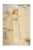 Portrait of Georgiana, Duchess of Devonshire Giclee Print by John Downman