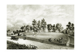 Fountain Park, Falls of Schuylkill, Philadelphia, C.1845 Giclee Print by James Queen