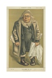 Mr Horace Greeley Giclee Print by Edward Frederick Brewtnall