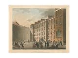 Fleet Prison, 1808 Giclee Print by Thomas Rowlandson