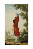 The Baron De Talleyrand, in a Landscape Giclee Print by  Carmontelle