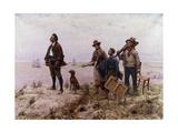An Amateur Painter; Un Peintre Amateur Giclee Print by Jules Denneulin