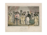 Chang-Eng, the Siamese Twins, 1829 Giclee Print by Nathaniel Whittock