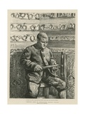Convict Life in Wormwood Scrubs Prison Giclee Print by Charles Paul Renouard