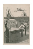 Page from the Illustrated Sporting and Dramatic News Giclee Print